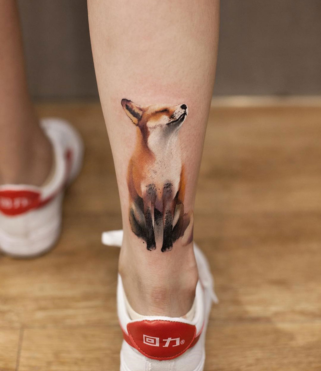 Fox ankle piece