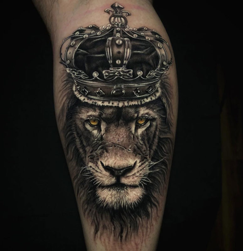 Lion King Tattoo By Szalai Tibor Body Tattoo Design