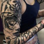 Tiger & Portrait Sleeve