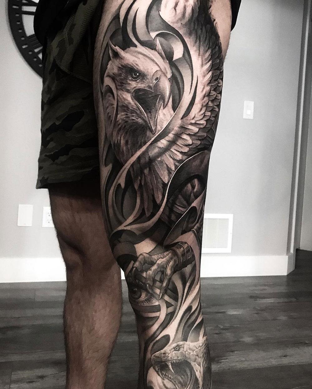Griffin leg