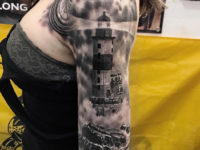 Lighthouse Half Sleeve
