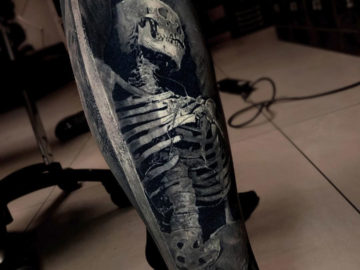 Skeleton 3D Realism leg piece