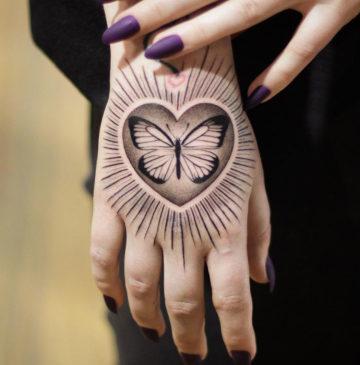 Girls Hand Tattoo Tattoo Ideas
