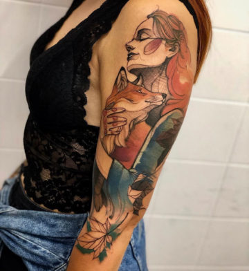 The Lady and the Fox