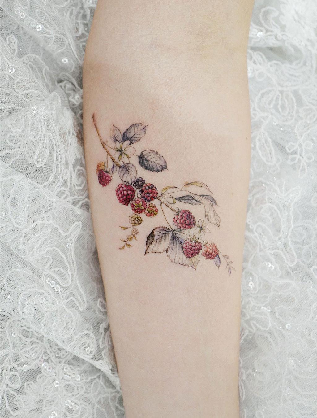 Pretty Raspberries