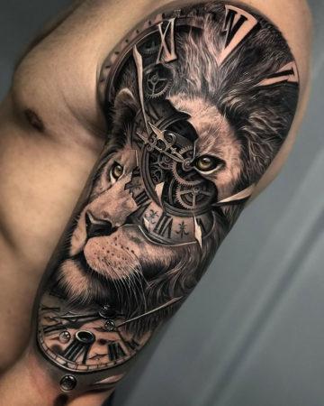 Lion & Clock Morph
