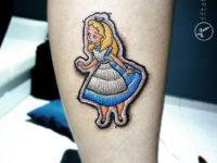Alice in Wonderland Patch