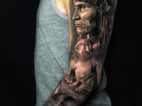 Native American sleeve
