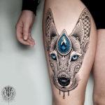 Mosaic Flow Dog