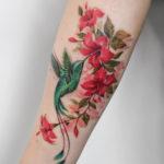 Hummingbird & Hibiscus