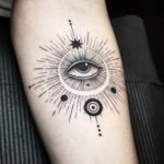 Abstract Evil Eye