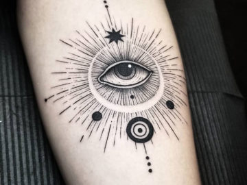 Abstract Evil Eye