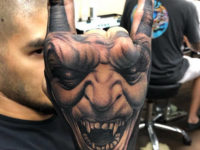 Devil Hand Tattoo