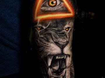 Illuminati Lion