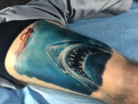 Jaws Great White Tattoo