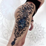 Ornamental Mandala Hip & Thigh