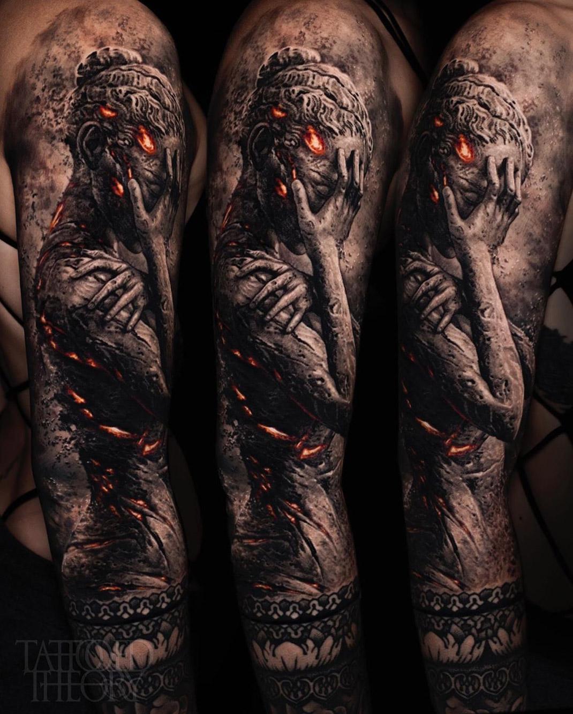 Anxiety tattoo