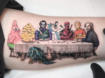 Last Supper with Friends