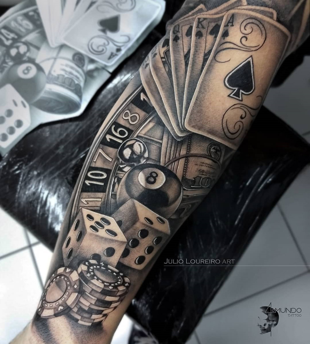 Gambling Gangster sleeve
