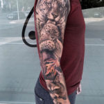 Jaguars & Raccoon full sleeve