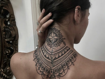 Ornamental Neck Mandala