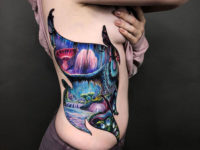 Planet Pandora side tattoo