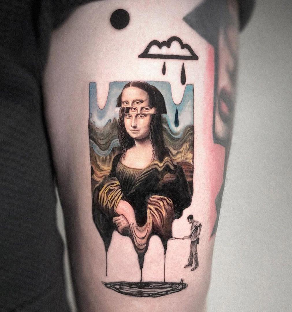 Surrealism Mona Lisa