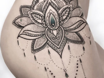 Mandala Hip detail