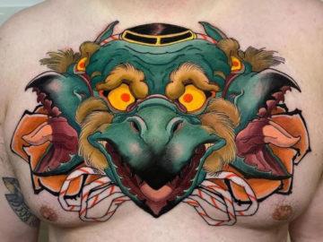 Triple Tengu Head