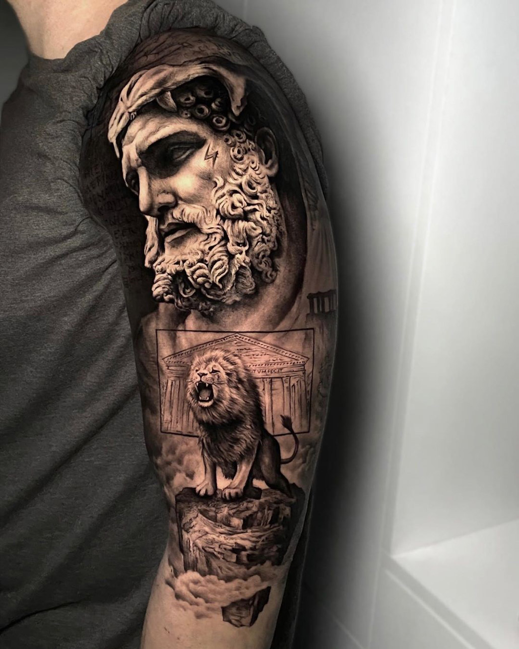 Hercules & Nemean Lion