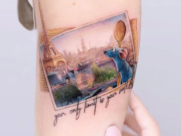 Ratatouille Tattoo