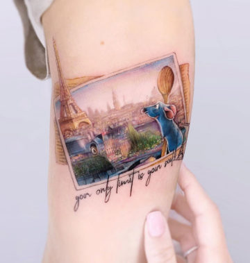 Ratatouille Tattoo