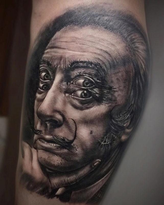 Surréaliste Salvador Dali