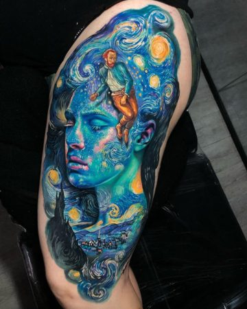 Vincent Van Gogh Fusion