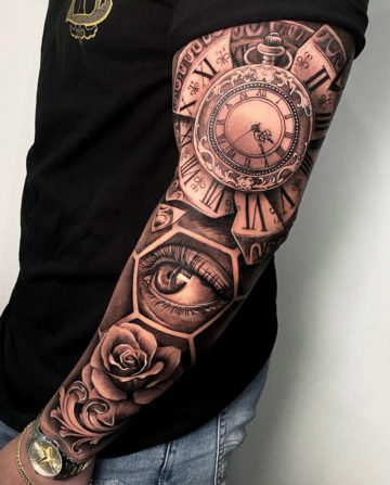Mens Full Sleeve Tattoo Ideas