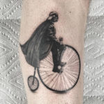 Darth Vader Riding A Penny Farthing