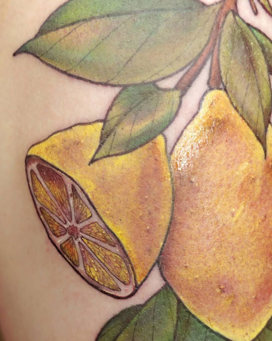 Lemon detail
