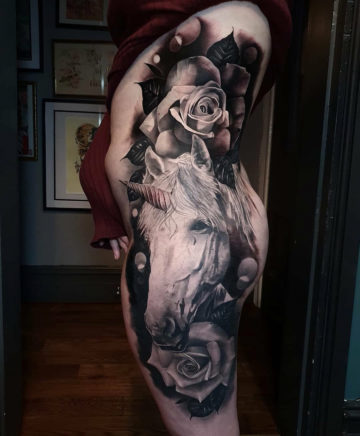 Unicorn & Roses