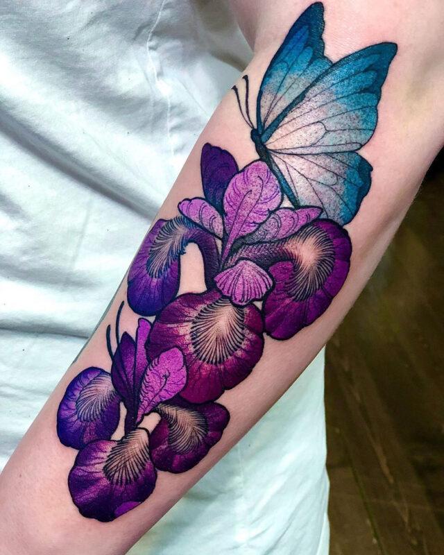 Papillon & Iris