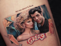Grease tribute piece