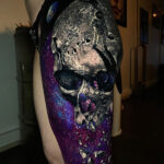 Moon Landing Space Skull