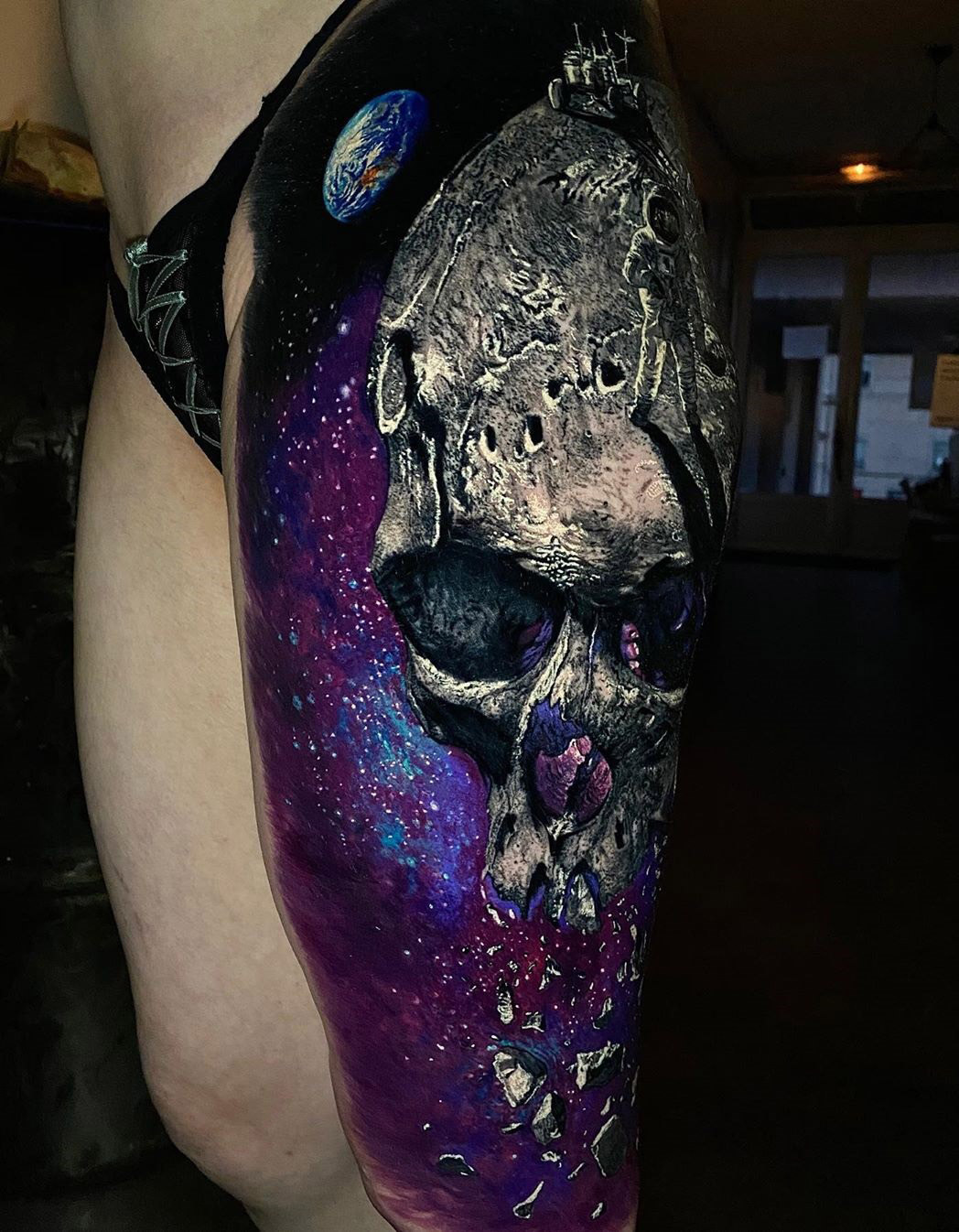 Space Skull Finished