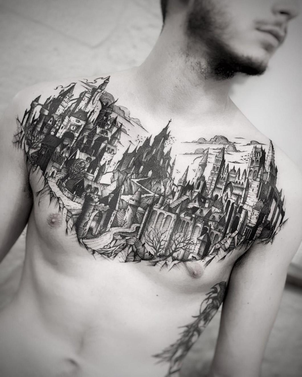 Dark Medieval City