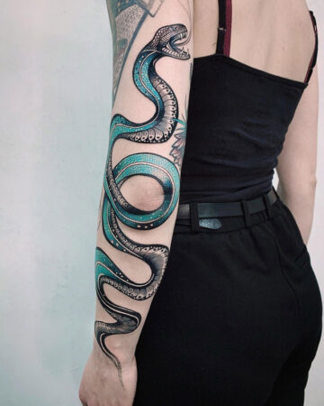 Freehand Snake