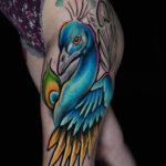 Peacock Thigh