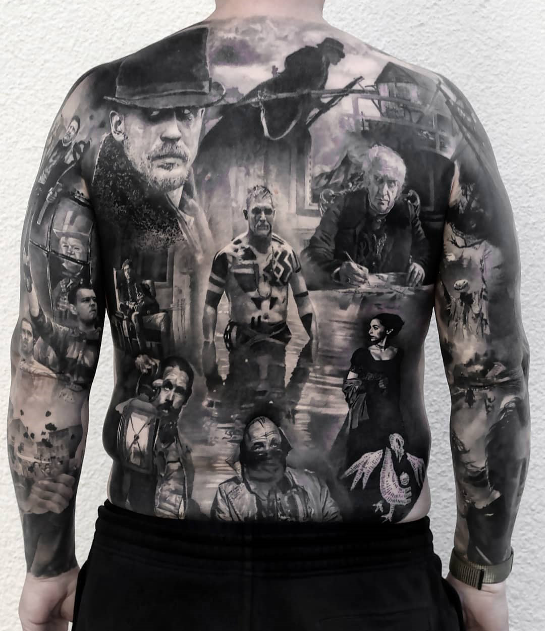 Tom Hardy Taboo Tattoo