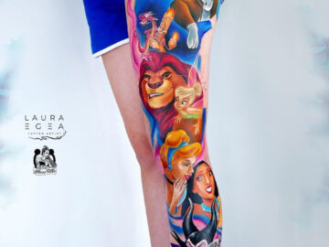 Disney Leg Sleeve