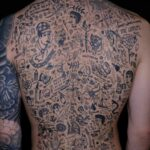 Freehand Back Tattoos