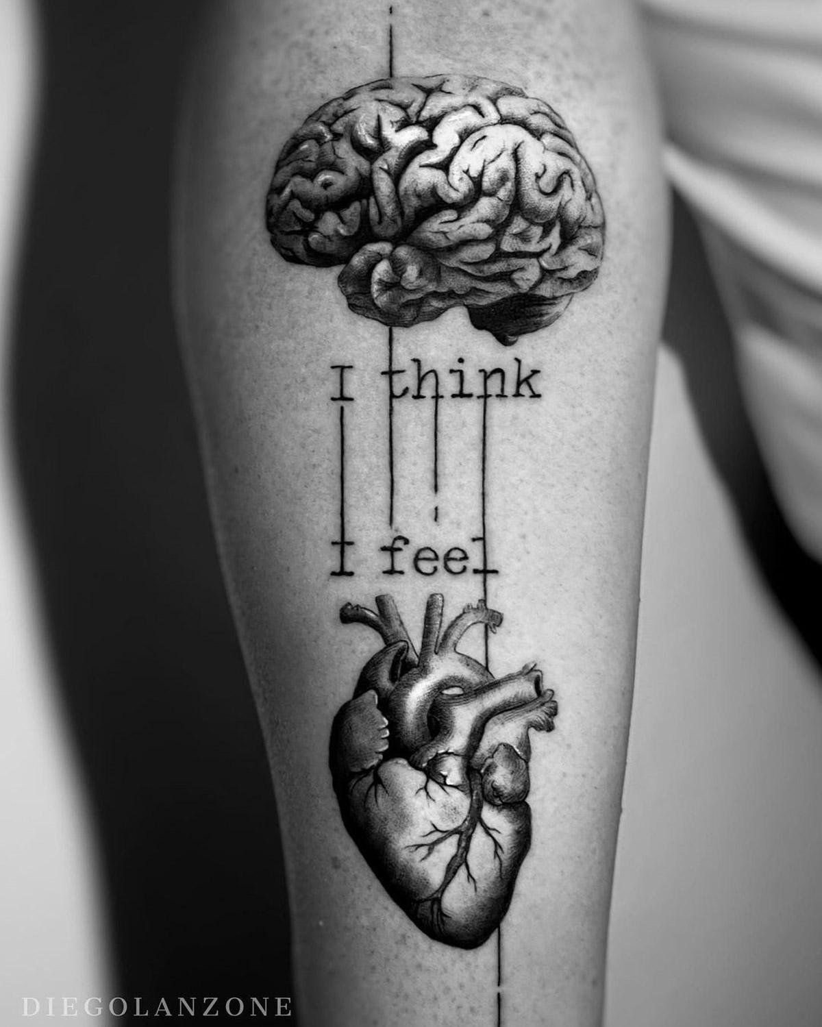 I Think, I Feel b&w