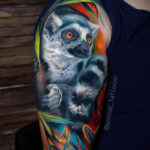 Ring-Tailed Lemur Tattoo